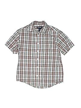 Cherokee Short Sleeve Button-Down Shirt Size M (Kids)