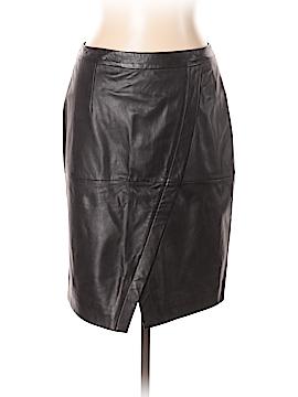 Halogen Leather Skirt Size 10