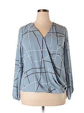 Alfani Long Sleeve Blouse Size 14