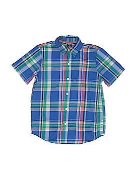 Gap Kids Short Sleeve Button-Down Shirt Size 6 - 7