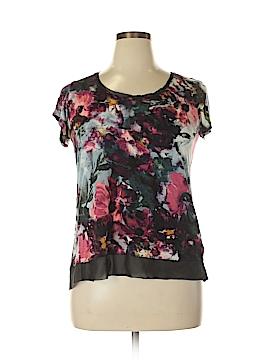 Simply Vera Vera Wang Short Sleeve Top Size XL (Petite)