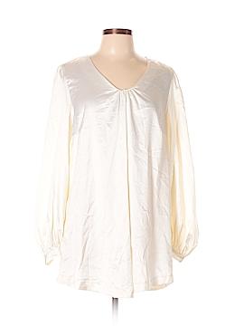 Melissa McCarthy Seven7 Long Sleeve Blouse Size 0X (Plus)