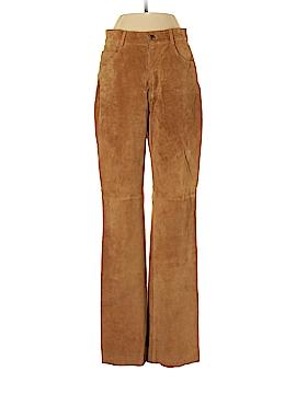 Sutton Studio Leather Pants Size 4