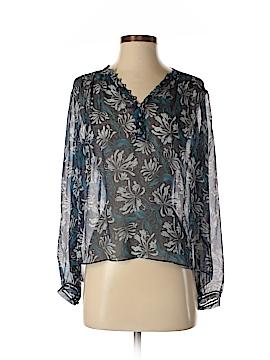 Rebecca Taylor Long Sleeve Silk Top Size 0