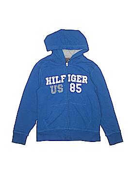 Tommy Hilfiger Zip Up Hoodie Size 12 - 14