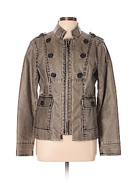Cache Faux Leather Jacket Size L