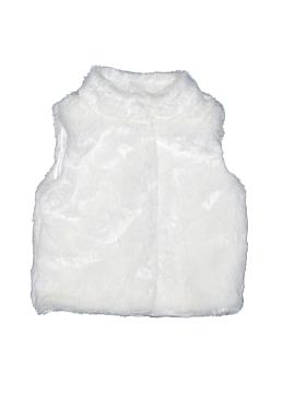Carter's Faux Fur Vest Size 4