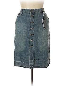 Style&Co Denim Skirt Size 14 (Plus)