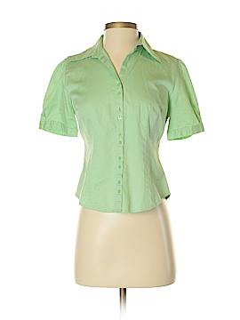 Ann Taylor LOFT Short Sleeve Button-Down Shirt Size 2