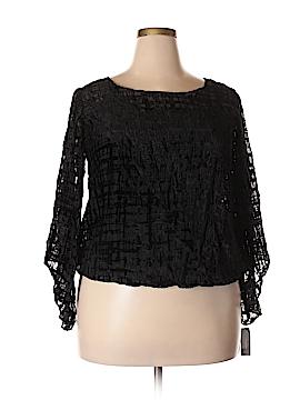Alfani Long Sleeve Blouse Size 1X (Plus)