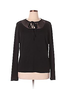 Marina Rinaldi Silk Pullover Sweater Size XL