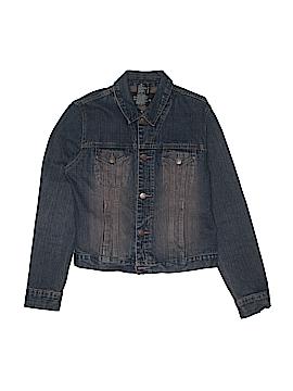 No Boundaries Denim Jacket Size M (Youth)