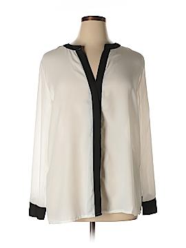 Be Lush Long Sleeve Blouse Size 1XL (Plus)
