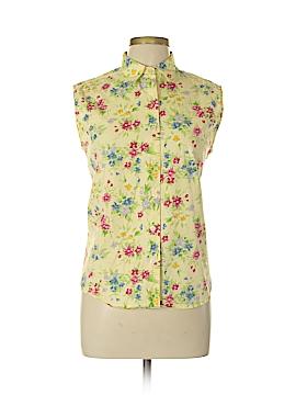 Harve Benard by Benard Haltzman Short Sleeve Button-Down Shirt Size L