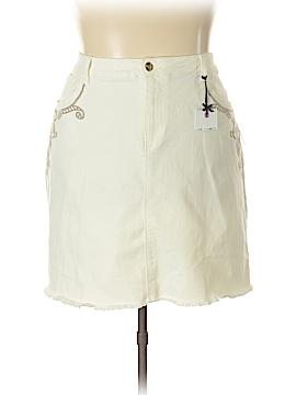 Nanette Lepore Denim Skirt Size 22W (Plus)