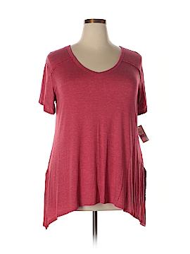 Moa Moa Short Sleeve T-Shirt Size 1X (Plus)