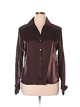 Christie & Jill Long Sleeve Blouse Size 16