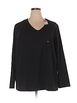 Basic Editions Long Sleeve T-Shirt Size 3X (Plus)