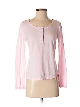 Laura Ashley Long Sleeve Henley Size S