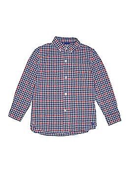 Mini Boden Long Sleeve Button-Down Shirt Size 7 - 8