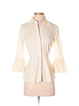 BCBGMAXAZRIA 3/4 Sleeve Button-Down Shirt Size S