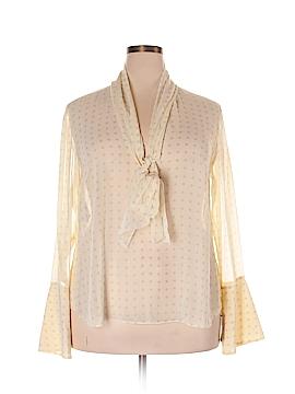 RACHEL Rachel Roy Long Sleeve Blouse Size XXL