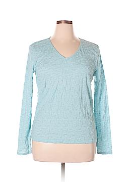 Jaclyn Smith Long Sleeve Blouse Size XL
