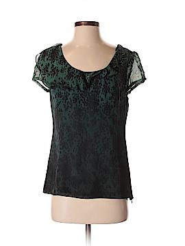 Classiques Entier Short Sleeve Silk Top Size S