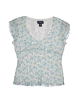 Ann Taylor Short Sleeve Blouse Size 1 (Petite)