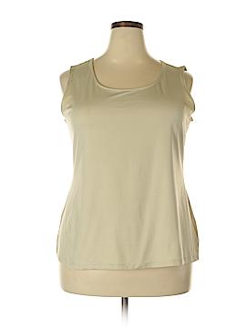 Charter Club Sleeveless T-Shirt Size 2X (Plus)