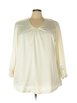 Melissa McCarthy Seven7 Long Sleeve Blouse Size 2X (Plus)