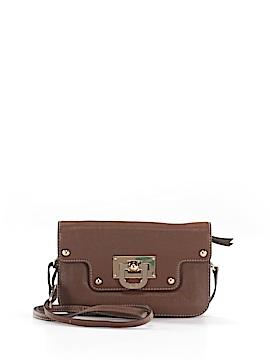 Donna Karan New York Leather Crossbody Bag One Size