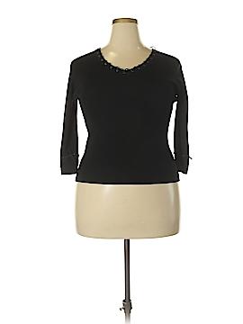 Joseph A. 3/4 Sleeve Blouse Size XL