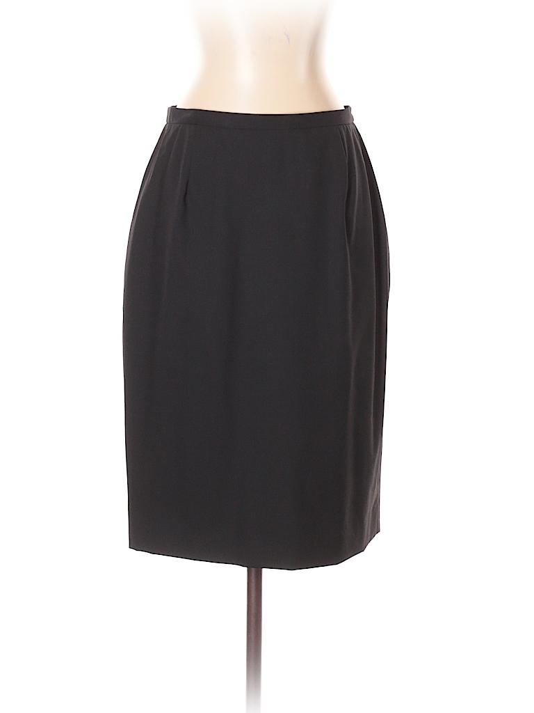 Brooks Brothers Women Wool Skirt Size 4