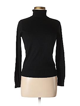 August Silk Turtleneck Sweater Size M (Petite)
