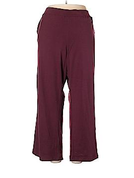 Basic Editions Sweatpants Size 2X (Plus)