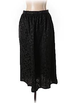 Stewart + Brown Silk Skirt Size 12