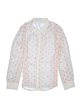 Hinge Long Sleeve Button-Down Shirt Size 1