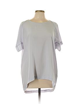 Hilton Hollis Short Sleeve Button-Down Shirt Size L