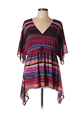 Adrienne Vittadini 3/4 Sleeve Blouse Size L