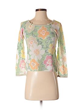 Sigrid Olsen 3/4 Sleeve Top Size S
