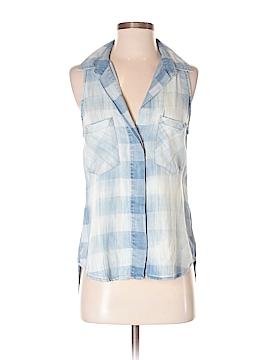 Bella Dahl Sleeveless Button-Down Shirt Size XS