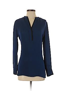 Vince. Long Sleeve Silk Top Size 4