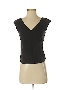 Max Studio Short Sleeve Silk Top Size XS