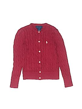 Ralph Lauren Cardigan Size 4T