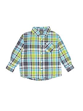 Cherokee Long Sleeve Button-Down Shirt Size 2T