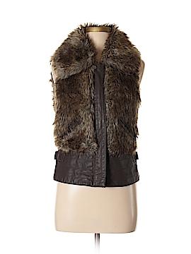 Vero Moda Faux Fur Vest Size S