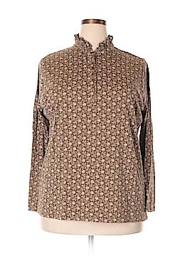 Lauren Jeans Co. Long Sleeve Henley Size 2X (Plus)