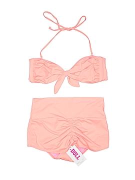 Dollz Two Piece Swimsuit Size L