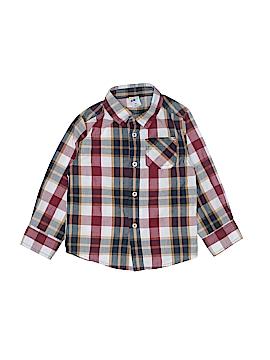 Healthtex Long Sleeve Button-Down Shirt Size 4T